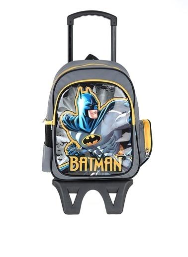 Batman Okul Çantası Renkli